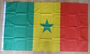 Senegal Large Country Flag - 5' x 3'.